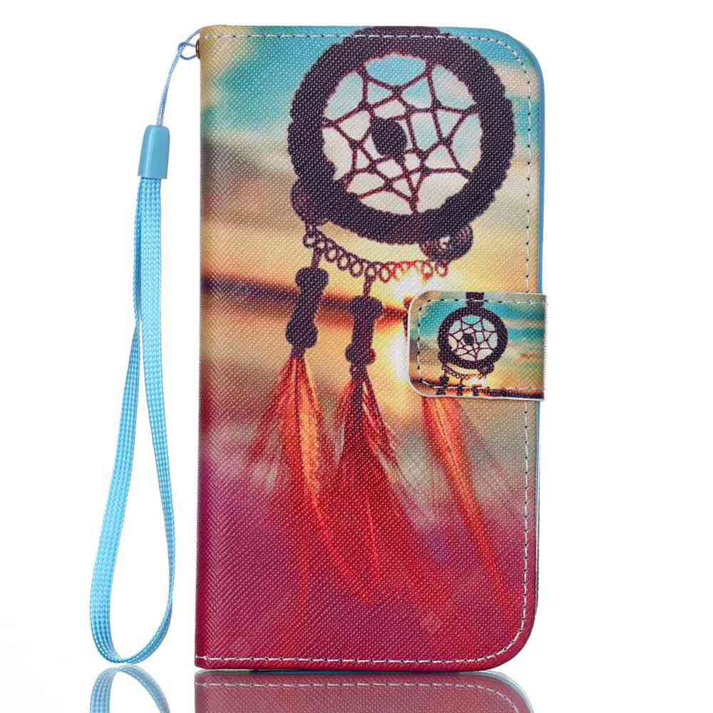 TAN New Painted PU Phone Case for Samsung Galaxy S7