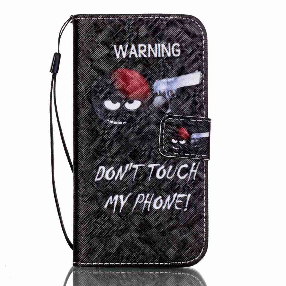 BLACK BROWN New Painted PU Phone Case for Samsung Galaxy S7