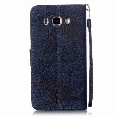 Embossed - Butterfly Flower PU Phone Case for Samsung Galaxy  J3 2016Samsung J Series<br>Embossed - Butterfly Flower PU Phone Case for Samsung Galaxy  J3 2016<br><br>Features: Full Body Cases, Cases with Stand, With Credit Card Holder, With Lanyard, Dirt-resistant<br>For: Samsung Mobile Phone<br>Functions: Camera Hole Location<br>Material: PU Leather, TPU<br>Package Contents: 1 x Phone Case<br>Package size (L x W x H): 14.80 x 8.40 x 1.80 cm / 5.83 x 3.31 x 0.71 inches<br>Package weight: 0.0650 kg<br>Style: Pattern, Solid Color, Ultra Slim, Novelty<br>Using Conditions: Skiing,Cruise