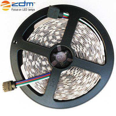 ZDM RGB LED Strip Light 5M 75W DC12VLED Strips<br>ZDM RGB LED Strip Light 5M 75W DC12V<br><br>Beam Angle: 120<br>Brand: ZDM<br>Certifications: CE,RoHs<br>Color Temperature or Wavelength: 700 -635nm (Red) 650 - 490nm (Green) 490 - 450nm (Blue)<br>Features: with Remote Control, Linkable, Festival Lighting, Color-changing<br>LED Quantity: 300<br>Length ( m ): 5<br>Light Source: 5050 SMD,LED<br>Light Source Color: RGB<br>Package Content: 1 x LED Strip, 1 x IR44 Controller<br>Package size (L x W x H): 15.00 x 15.00 x 4.00 cm / 5.91 x 5.91 x 1.57 inches<br>Package weight: 0.1500 kg<br>Power Supply: 12V<br>Product weight: 0.1400 kg<br>Type: LED Strip Light, RGB Strip Lights<br>Voltage: DC12V<br>Waterproof Rate: IP20<br>Wattage (W): 75W<br>Width( mm ): 10