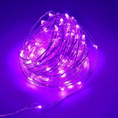 ZDM 10M 100 LED Copper Wire String Light for Festival Christmas Party Decoration DC12V