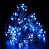 ZDM 10M 100 LED Copper Wire String Light for Festival Christmas Party Decoration DC12V - BLUE LIGHT