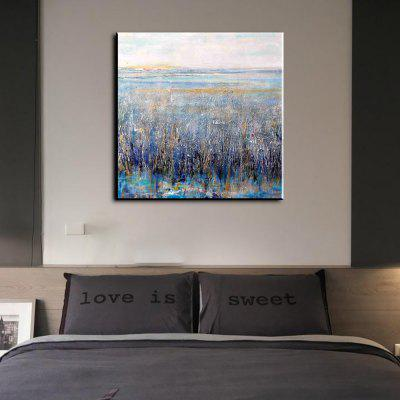 Buy GRAY YHHP Hand Painted Impression Scenery Rural Canvas Oil Painting for Home Decoration for $49.60 in GearBest store