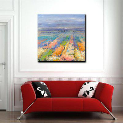 Buy COLORMIX YHHP Hand Painted Impression Scenery Farm Canvas Oil Painting for Home Decoration for $49.60 in GearBest store
