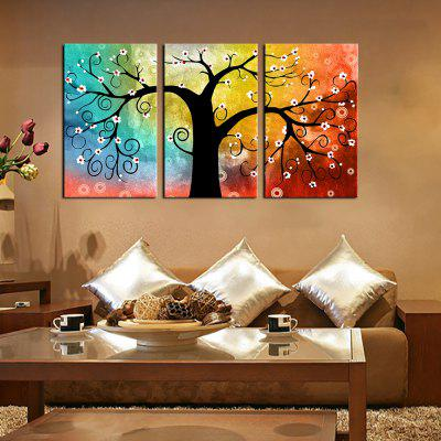 Buy YHHP Canvas Print Tree Wall Decor For Home Decoration 3PCS COLORMIX for $33.95 in GearBest store