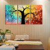 Buy YHHP Canvas Print Tree Wall Decor Home Decoration COLORMIX