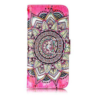 Wkae Glossy Embossed Leather Case Cover for IPod Touch 5 / 6