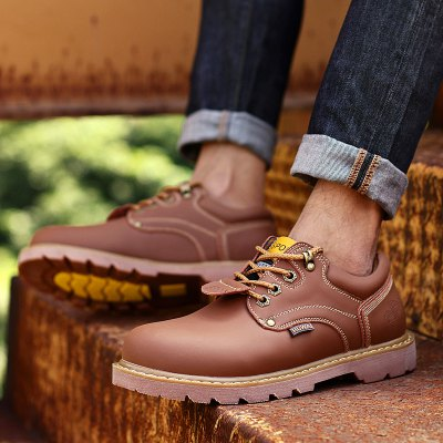 Mens Fall Head Casual Martin ShoesMens Boots<br>Mens Fall Head Casual Martin Shoes<br><br>Available Size: 40<br>Closure Type: Lace-Up<br>Embellishment: None<br>Gender: For Men<br>Outsole Material: Rubber<br>Package Contents: 1 x Shoes(pair)<br>Pattern Type: Others<br>Season: Winter, Spring/Fall<br>Toe Shape: Round Toe<br>Toe Style: Closed Toe<br>Upper Material: Cow Split<br>Weight: 1.2000kg