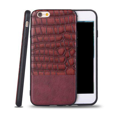 Ultra fino Slim Soft TPU Silicon Cover A prova de choque e skidproof Case Crocodile Striae para IPhone 6 / 6S