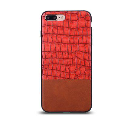 Ultra Thin Slim Soft TPU Silicon Cover Shockproof and Skidproof Case Crocodile Striae for IPhone 7 Plus / 8 PlusiPhone Cases/Covers<br>Ultra Thin Slim Soft TPU Silicon Cover Shockproof and Skidproof Case Crocodile Striae for IPhone 7 Plus / 8 Plus<br><br>Features: Anti-knock<br>Material: TPU<br>Package Contents: 1 x Phone Case<br>Package size (L x W x H): 18.00 x 13.00 x 3.00 cm / 7.09 x 5.12 x 1.18 inches<br>Package weight: 0.0600 kg<br>Style: Leather