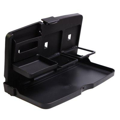 Auto Car Back Seat Folding Table Drink Food Cup Tray Holder