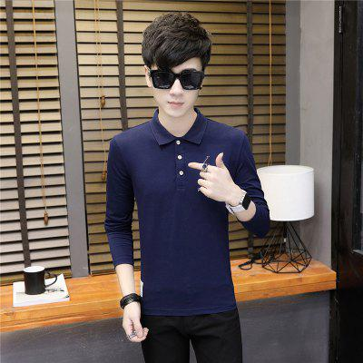 Mens Embroidery Fashion Slim Long Sleeve Polo ShirtMens T-shirts<br>Mens Embroidery Fashion Slim Long Sleeve Polo Shirt<br><br>Collar: Polo Collar<br>Color Style: Contrast Color<br>Fabric Type: Broadcloth<br>Material: Cotton<br>Package Contents: 1 x T-Shirt<br>Pattern Type: Others<br>Sleeve Length: Full<br>Style: Casual<br>Type: Regular<br>Weight: 0.2200kg