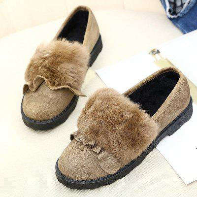Winter New Cashmere Warm Woolen ShoesWomens Boots<br>Winter New Cashmere Warm Woolen Shoes<br><br>Boot Height: Ankle<br>Boot Type: Snow Boots<br>Closure Type: Slip-On<br>Gender: For Women<br>Heel Type: Others<br>Package Contents: 1 x Shoes?pair?<br>Pattern Type: Solid<br>Season: Spring/Fall, Winter<br>Toe Shape: Round Toe<br>Upper Material: PU<br>Weight: 1.1200kg