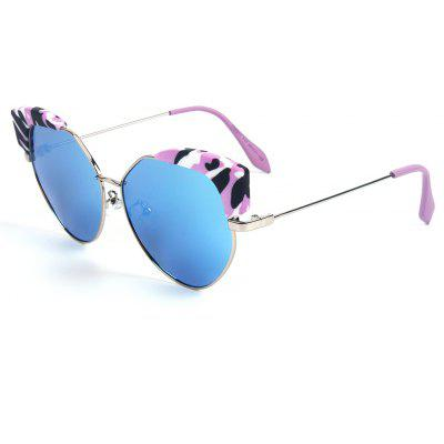 Buy ICE BLUE TOMYE 55901 Cool Colorful Cat Polarized Sunglasses for $17.21 in GearBest store