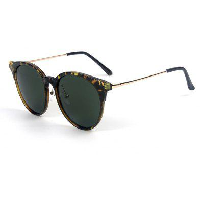 Buy BLACKISH GREEN TOMYE 55906 New Fashion Colorful Cat Polarized Sunglasses for $17.21 in GearBest store