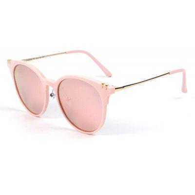 Buy PINK TOMYE 55906 New Fashion Colorful Cat Polarized Sunglasses for $17.21 in GearBest store