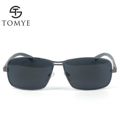 TOMYE P1026 Metal Square Frame Polarized Sunglasses for MenMens Sunglasses<br>TOMYE P1026 Metal Square Frame Polarized Sunglasses for Men<br><br>Brand: TOMYE<br>Frame Length: 140mm<br>Frame material: Alloy<br>Gender: For Men<br>Group: Adult<br>Lens height: 40mm<br>Lens material: Resin<br>Lens width: 64mm<br>Lenses Optical Attribute: Polarized<br>Nose: 15mm<br>Package Contents: 1 x Pair of Sunglasses, 1 x Glasses Case, 1 x Glasses Cloth<br>Package size (L x W x H): 16.00 x 6.00 x 6.00 cm / 6.3 x 2.36 x 2.36 inches<br>Package weight: 0.0700 kg<br>Product weight: 0.0240 kg<br>Style: Pilot<br>Temple Length: 126mm