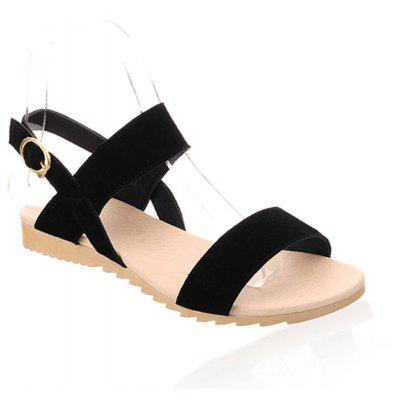 Flat Heeled Sandals for Summer Students