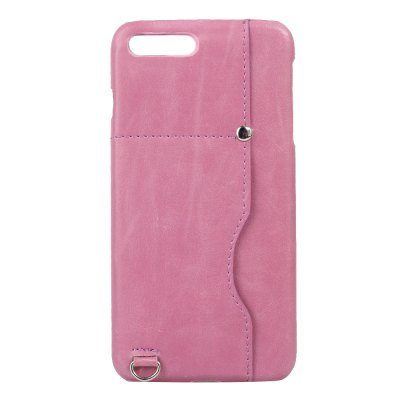 Minismile Premium Anti-Slip Anti-Scratch Leather Back Case Cover with Card Slot for iPhone 8 Plus / 7 PlusiPhone Cases/Covers<br>Minismile Premium Anti-Slip Anti-Scratch Leather Back Case Cover with Card Slot for iPhone 8 Plus / 7 Plus<br><br>Compatible for Apple: iPhone 7 Plus, iPhone 8 Plus<br>Features: Back Cover, With Credit Card Holder, Anti-knock, Shatter-Resistant Case<br>Material: Cowhide<br>Package Contents: 1 x Case<br>Package size (L x W x H): 16.00 x 8.00 x 1.00 cm / 6.3 x 3.15 x 0.39 inches<br>Package weight: 0.0320 kg<br>Product weight: 0.0320 kg<br>Style: Solid Color, Name Brand Style, Novelty