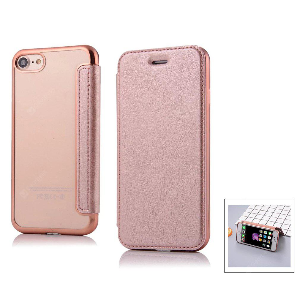 Minismile Bubble Pop Flip Open Pu Housse en cuir avec fentes pour cartes / stand pour iPhone 6 / 6S