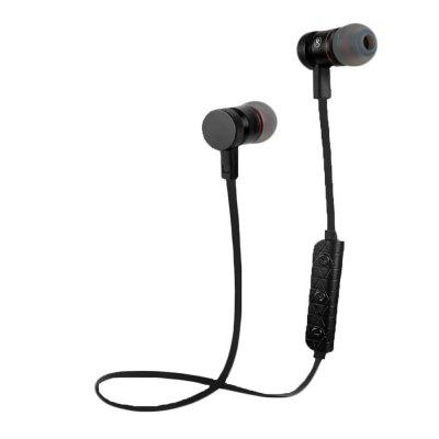 Buy BLACK OLLLY Wireless Sport Bluetooth Headphones Wireless Earbuds with Mic Stereo Headset Noise Cancelling Neckband Sweatproof Earphone DP010 for $8.99 in GearBest store