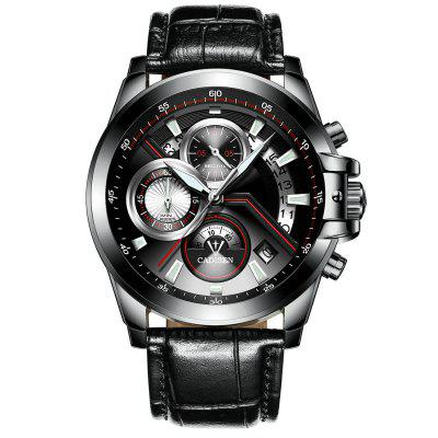 Cadisen 9016 Multifunctional Men Waterproof Quartz Watch