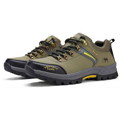 Outdoor Climb Mountain Leisure SneakersAthletic Shoes<br>Outdoor Climb Mountain Leisure Sneakers<br><br>Available Size: 39 40 41 42 43 44 45 46<br>Closure Type: Lace-Up<br>Feature: Massage<br>Gender: For Men<br>Insole Material: Rubber<br>Lining Material: Cotton Fabric<br>Outsole Material: Rubber<br>Package Contents: 1?Shoes(pair)<br>Pattern Type: Others<br>Season: Spring/Fall<br>Shoe Width: Medium(B/M)<br>Upper Material: PU<br>Weight: 1.0200kg