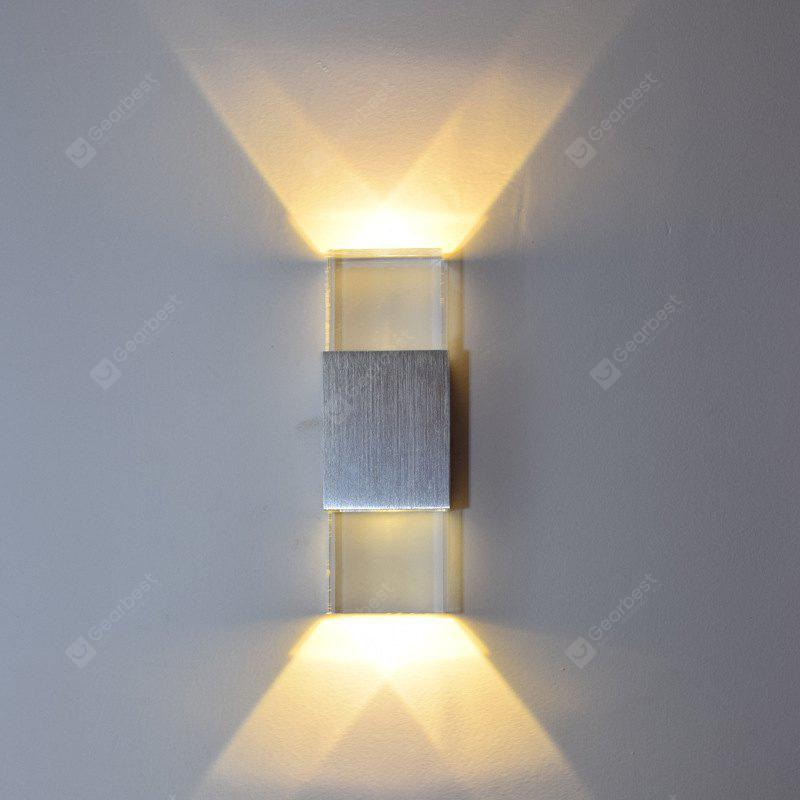 Modern contemporary electroplated feature for led mini style ambient modern contemporary electroplated feature for led mini style ambient light wall lamp aloadofball Gallery