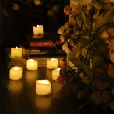 24 PCS Realistic Flameless Votive Battery-operated Candles