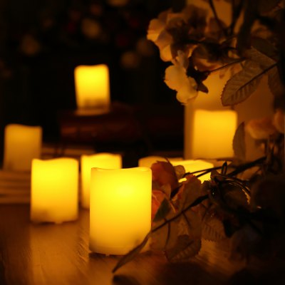 6 PCS Realistic Flickering Flameless Candle