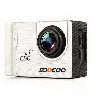 SOOCOO Brand C60 Sports Camera 4K WiFi 2.0-INCH Anti-Shake Diving Waterproof 30M