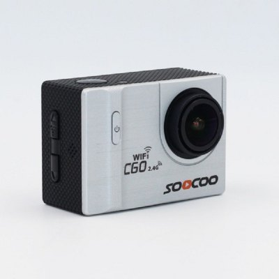 SOOCOO C60R 4K Sports Camera WiFi Remote Built-In Gyroscope Can Adjust 30M Waterproof