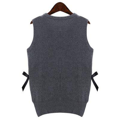 New Fashion Girl Series Sleeveless Sweater VestSweaters &amp; Cardigans<br>New Fashion Girl Series Sleeveless Sweater Vest<br><br>Collar: Round Neck<br>Elasticity: Elastic<br>Material: Wool<br>Package Contents: 1 x Sweater<br>Sleeve Length: Sleeveless<br>Style: Fashion<br>Technics: Flat Knitted<br>Type: Pullovers<br>Weight: 0.2200kg