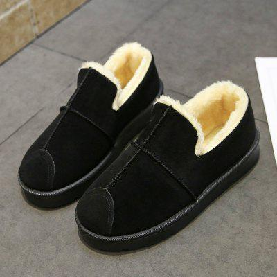 2017 Winter Snow Female Short Lazy Flat Boots Velvet Warm ShoesWomens Boots<br>2017 Winter Snow Female Short Lazy Flat Boots Velvet Warm Shoes<br><br>Boot Height: Ankle<br>Boot Type: Snow Boots<br>Closure Type: Slip-On<br>Gender: For Women<br>Heel Type: Flat Heel<br>Package Contents: 1 x Shoes?Pair?<br>Pattern Type: Solid<br>Season: Winter<br>Toe Shape: Round Toe<br>Upper Material: Flock<br>Weight: 0.8960kg