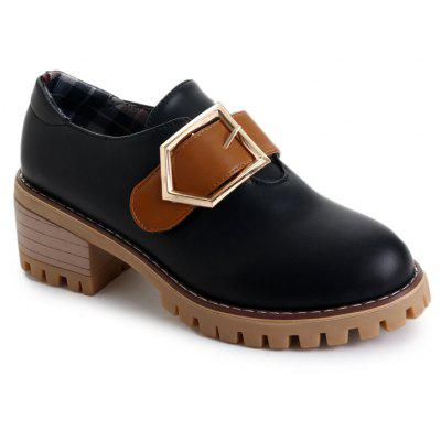 Autumn New British Rough Women Shoe