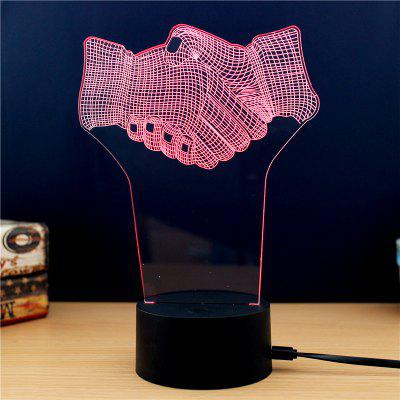 M.Sparkling TD186 Creative Cooperation 3D LED Lamp