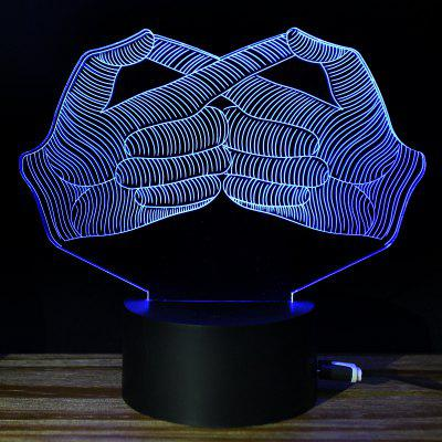 M.Sparkling TD214 Creative Thinking 3D LED Lamp
