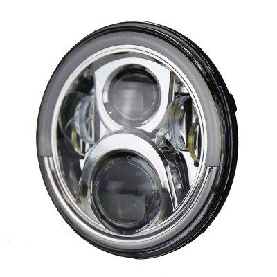 Halo Round 7Inch Low High Beam Led Headlight for Jeep WranglerCar Lights<br>Halo Round 7Inch Low High Beam Led Headlight for Jeep Wrangler<br><br>Apply lamp position: External Lights<br>Apply To Car Brand: Jeep<br>Color temperatures: 6000K<br>Connector: H4, H13<br>Emitting color: White,Yellow<br>Feature: Power saver, Waterproof/Dustproof, Durable high performance, Easy to use, Spotlight, Low Power Consumption<br>Identification: ISO9000<br>LED Type: SMD2525<br>Light mode: Steady<br>Lumens: 4000LM/2400LM<br>Material: Aluminum Alloy, Aluminium<br>Package Contents: 1 x LED Headlight, 1 x Connect Wire<br>Package size (L x W x H): 20.00 x 20.00 x 13.50 cm / 7.87 x 7.87 x 5.31 inches<br>Package weight: 1.3500 kg<br>Product size (L x W x H): 17.50 x 17.50 x 9.50 cm / 6.89 x 6.89 x 3.74 inches<br>Product weight: 1.2000 kg<br>Type: Car LED, Turn Signal Light, Angel ENo, Daytime Running Lights<br>Type of lamp-house: LED<br>Voltage: DC 12 - 28V
