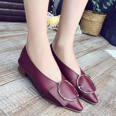Autumn and Winter New Retro Tip Women ShoesWomens Pumps<br>Autumn and Winter New Retro Tip Women Shoes<br><br>Available Size: 35-39<br>Heel Height: 3<br>Heel Height Range: Low(0.75-1.5)<br>Heel Type: Chunky Heel<br>Lining Material: Plush<br>Occasion: Party<br>Outsole Material: Rubber<br>Package Contents: 1 x Shoes (pair)<br>Pumps Type: Basic<br>Season: Winter, Spring/Fall<br>Shoe Width: Medium(B/M)<br>Toe Shape: Pointed Toe<br>Toe Style: Closed Toe<br>Upper Material: PU<br>Weight: 3.6000kg