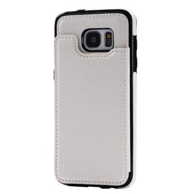 Case for Samsung Galaxy S7 Edge Card Holder with Stand Back Cover Solid Color Hard PU LeatherSamsung S Series<br>Case for Samsung Galaxy S7 Edge Card Holder with Stand Back Cover Solid Color Hard PU Leather<br><br>Color: Black,White,Red,Brown,Dark blue,Rose Madder<br>Compatible for Samsung: Samsung Galaxy S7 Edge<br>Features: Back Cover, Cases with Stand, With Credit Card Holder<br>For: Samsung Mobile Phone<br>Material: TPU, PU Leather<br>Package Contents: 1 x Phone Case<br>Package size (L x W x H): 20.00 x 10.50 x 1.50 cm / 7.87 x 4.13 x 0.59 inches<br>Package weight: 0.0650 kg<br>Style: Vintage, Solid Color