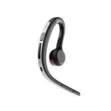 Hanging Ear Business Bluetooth Sport Stereo Headset Silver 10.9G