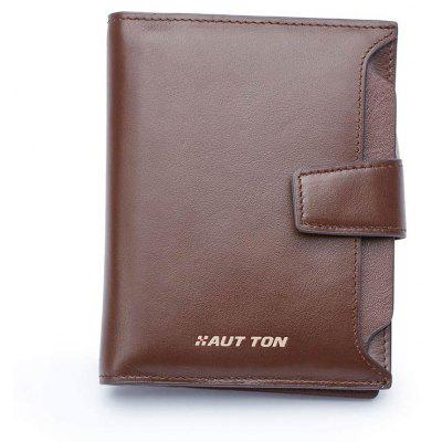 HAUT TON High-end Leather Bifold Men WalletWallets<br>HAUT TON High-end Leather Bifold Men Wallet<br><br>Closure Type: Open<br>Gender: For Men<br>Hardness: Soft<br>Height: 12.5<br>Interior: Interior Compartment<br>Length(CM): 0<br>Main Material: Genuine Leather<br>Package Contents: 1 x wallet<br>Package size (L x W x H): 10.00 x 3.00 x 13.00 cm / 3.94 x 1.18 x 5.12 inches<br>Package weight: 0.1100 kg<br>Pattern Type: Solid<br>Product size (L x W x H): 9.50 x 2.00 x 12.50 cm / 3.74 x 0.79 x 4.92 inches<br>Product weight: 0.1100 kg<br>Style: Fashion<br>Wallets Type: Standard Wallets<br>Width: 0
