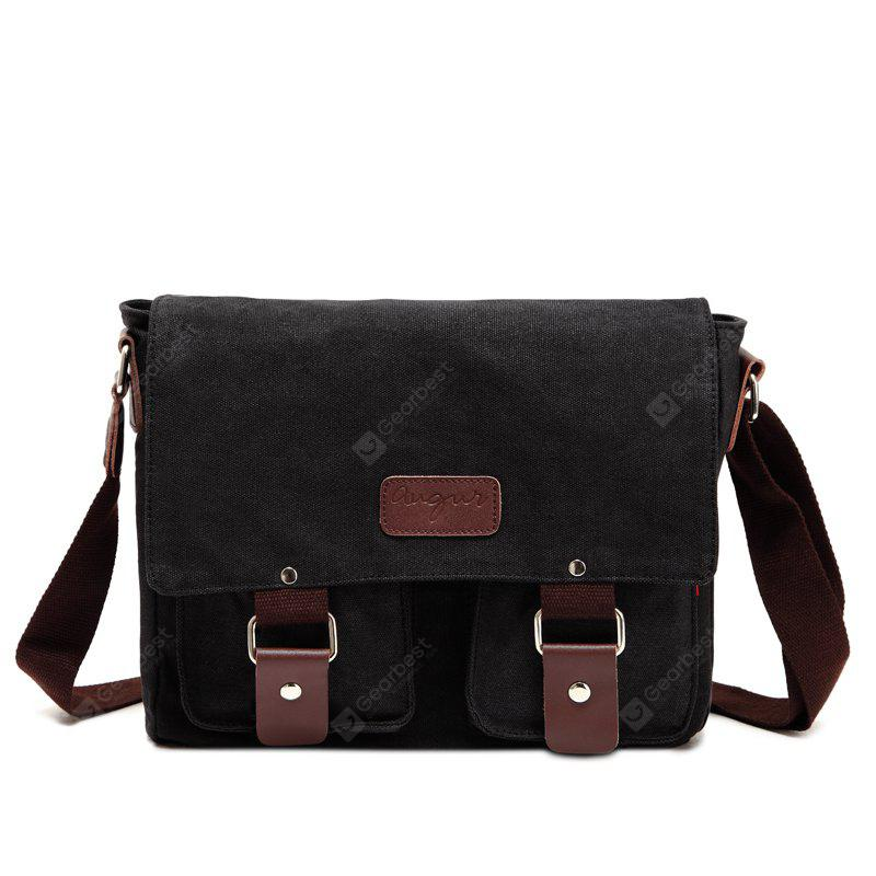 9af06707df2d AUGUR Men Crossbody Male Vintage Canvas Messenger Bag ...