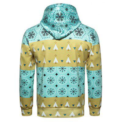 Christmas Snowflake Printed HoodieMens Hoodies &amp; Sweatshirts<br>Christmas Snowflake Printed Hoodie<br><br>Material: Polyester<br>Package Contents: 1 x Hoodie<br>Shirt Length: Regular<br>Sleeve Length: Full<br>Style: Casual<br>Weight: 0.3000kg