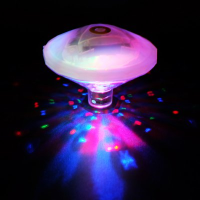 Buy BRELONG LED Bathtub Light Swimming Pool Floating Water Underwater Lighting RGB WHITE for $6.48 in GearBest store