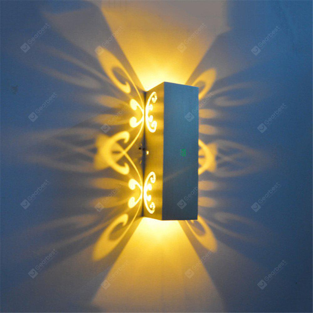 YWXLight 6W LED Butterfly Shape Fashion Wall Light Indoor AC 110 - 240V