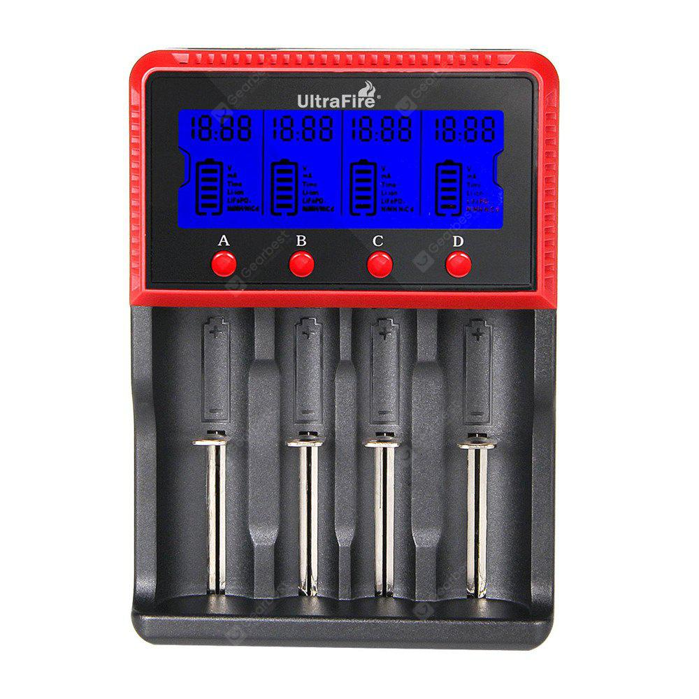 UltraFire H4 LCD Screen 4 Slot Battery Charger