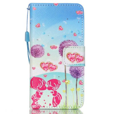 High-grade Painted PU Phone Cover for iPod Touch 5 / 6