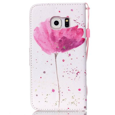 High-Grade Painted PU Phone for Samsung Galaxy S6 EdgeSamsung S Series<br>High-Grade Painted PU Phone for Samsung Galaxy S6 Edge<br><br>Features: Cases with Stand, With Credit Card Holder, With Lanyard, Dirt-resistant<br>For: Samsung Mobile Phone<br>Material: PU Leather<br>Package Contents: 1 x Phone Case<br>Package size (L x W x H): 14.50 x 7.40 x 1.80 cm / 5.71 x 2.91 x 0.71 inches<br>Package weight: 0.0580 kg<br>Style: Novelty