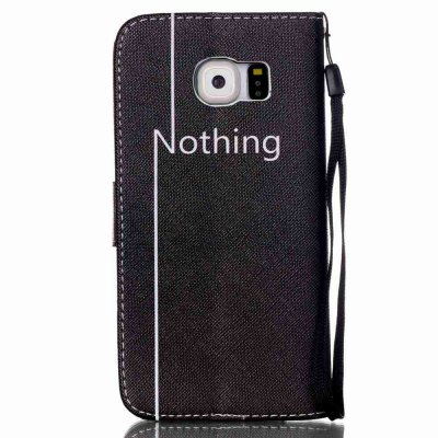 High-Grade Painted PU Phone for Samsung Galaxy S6Samsung S Series<br>High-Grade Painted PU Phone for Samsung Galaxy S6<br><br>Features: Cases with Stand, With Credit Card Holder, With Lanyard, Dirt-resistant<br>For: Samsung Mobile Phone<br>Material: PU Leather<br>Package Contents: 1 x Phone Case<br>Package size (L x W x H): 14.50 x 7.40 x 1.80 cm / 5.71 x 2.91 x 0.71 inches<br>Package weight: 0.0630 kg<br>Style: Novelty